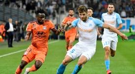 Les compos offcielles du match de Ligue 1 entre Lyon et Marseille. AFP