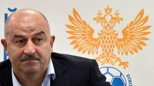Stanislav Tchertchessov n'a pas aimé la question. AFP