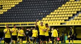 Florentino Perez si è complimentato con il Borussia. AFP