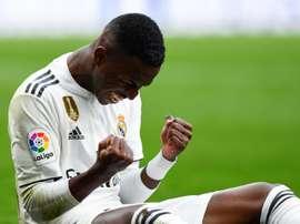 Zidane reaches a decision on Vinicius. AFP
