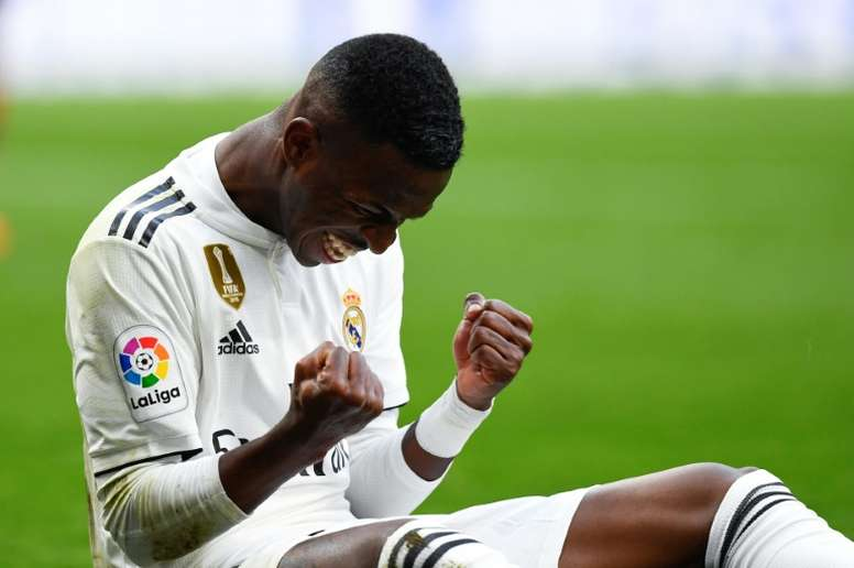 Zidane reaches a decision on Vinicius. AFP