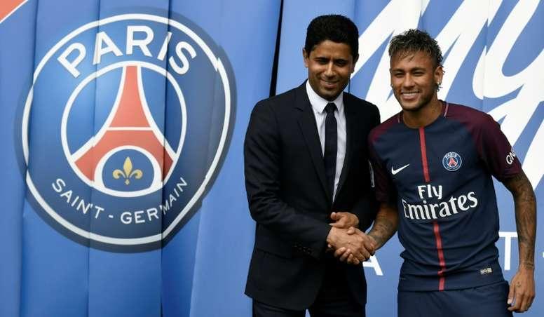 Al-Khelaïfi prévient le Real Madrid. AFP
