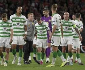 Baisse de salaire pour les joueurs et le staff du Celtic. AFP