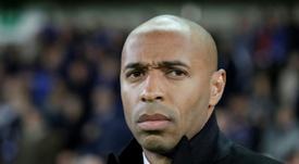 Wenger parle d'Henry et Vieira. AFP