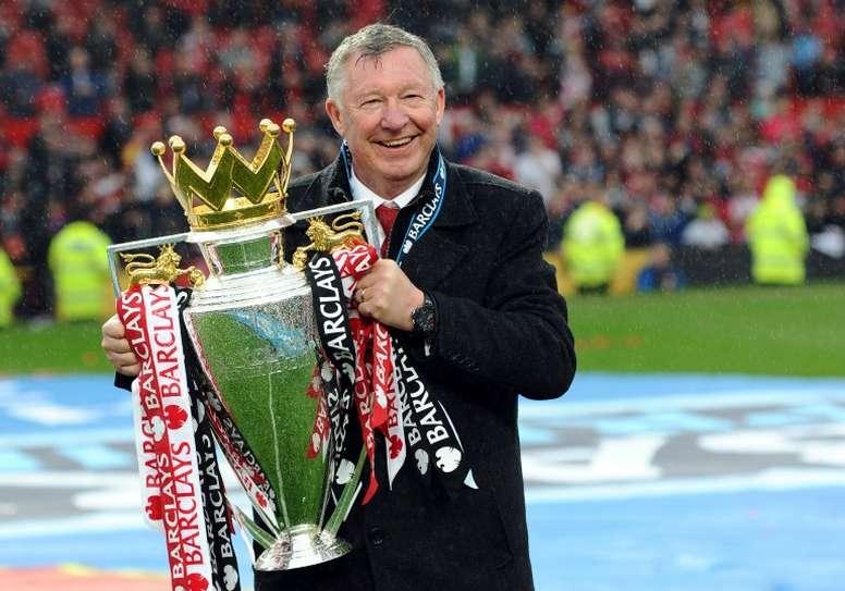 Acusan a Ferguson de amañar un partido de Champions con el United. AFP