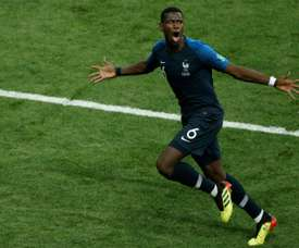 Juventus are willing to sell two players to buy Pogba. AFP
