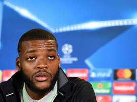 French midfielder Oliver Ntcham moved to Glasgow this summer from Manchester City. AFP