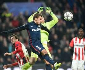 El holandés deslumbra en el PSV. AFP
