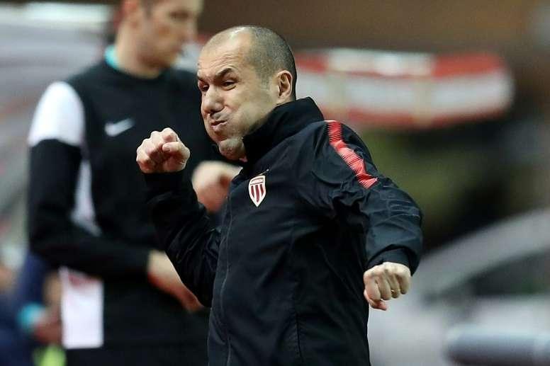 Leonardo Jardim seguirá en el Mónaco. AFP