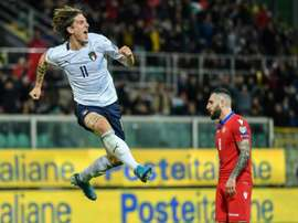 L'AS Roma prête à revoir à la baisse le prix de Zaniolo ? AFP