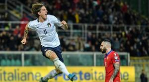 La Juventus prête à faire une folie pour Zaniolo. AFP