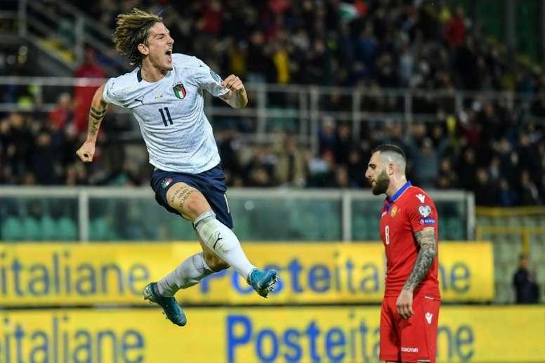 Euro-2020/Qualifications: 10 sur 10 pour l'Italie. AFP