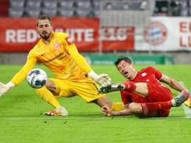 Kevin Trapp n'ira pas à Rennes. AFP