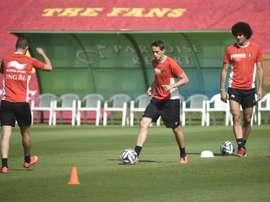 Des personnalités du foot belge s'unissent au sein des 'Souliers du cœur'. AFP