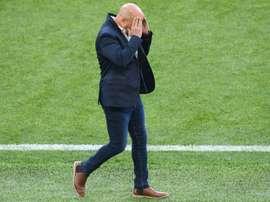 Argentina está dando dolores de cabeza a Sampaoli. AFP