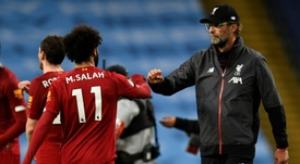 El nuevo objetivo del Liverpool: quitarle un récord al City. AFP