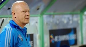 Le Tchèque Ivan Hasek, alors entraîneur des Saoudiens d'Al-Hilal. AFP