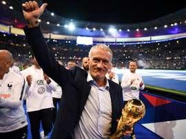 Deschamps fier de son titre. AFP
