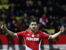 Avec Moreno, Fabregas a repris du poids à Monaco. AFP