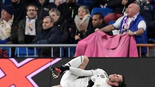 Bale, forfait. AFP