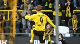 El United declara a Haaland su objetivo número uno para la 2021-22. AFP