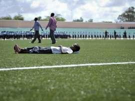 Le stade de Konis à Mogadiscio, ici lors des festivités de l'indépendance du pays. AFP