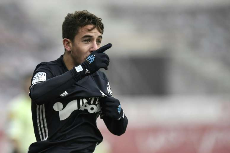 Maxime Lopez se sinceró sobre el interés del Barça en 2017. AFP