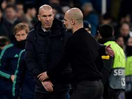 Guardiola et City remportent le duel de tacticiens face au Real Madrid. AFP