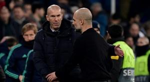 Guardiola et City remportent le duel de tacticiens face au Real Madrid. AFP