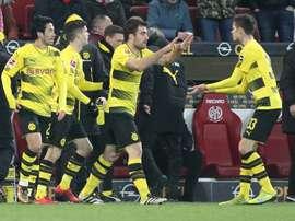 De l'orgueil côté Dortmund ? AFP