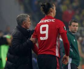 Mourinho would have Ibrahimovic back in a heartbeat. AFP