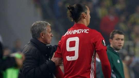 Mourinho quer Ibra de volta. AFP