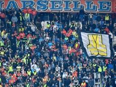 Des supporters de l'Olympique de Marseille. AFP