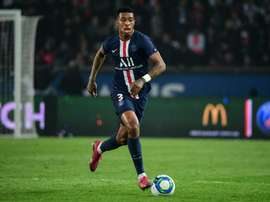Kimpembe, out until January. AFP