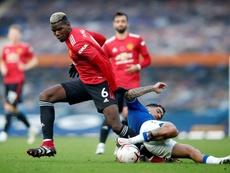 Pogba en quête d'oxygène à Manchester United. AFP