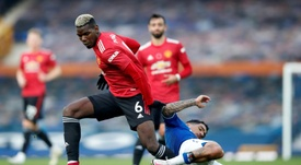 Pogba is fit for United. AFP