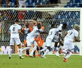 Montpellier perd contre Dijon. AFP