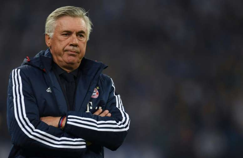 Ancelotti looks back at his Bayern dismissal. AFP