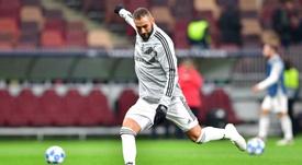 Benzema ne veut plus entendre son nom dans la bouche de Le Graet. AFP