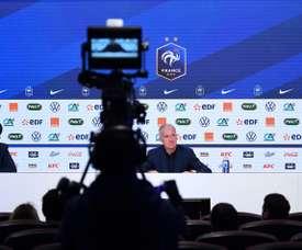 Benjamin Mendy replonge avec les Bleus. AFP