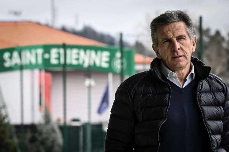 Puel espère voir Saint-Etienne garder le cap sans Thuilot. AFP