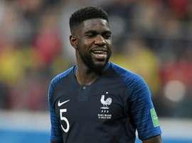 Umtiti ha jugado 31 partidos con la Selección Francesa. AFP