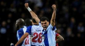El Oporto ganó y alcanzó el liderato en Portugal. AFP/Archivo
