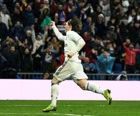 Modric raccrochera les crampons à Madrid. AFP