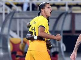 Tottenham et l'AC Milan accèdent aux barrages. afp