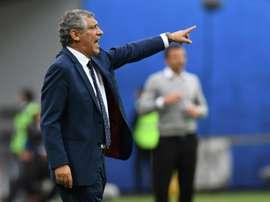 Apesar da vitória expressiva, houve pontos menos bons para o selecionador português. AFP