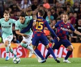 Les six joueurs qui pourraient faciliter l'arrivée de Lautaro au Barça. AFP