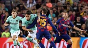 Barcelona já conhece o preço de Lautaro: 111 milhões de euros. AFP