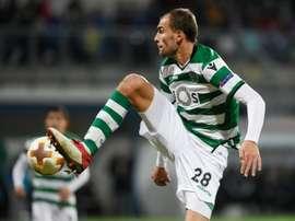Princípio de acordo entre Sporting e Eintracht por Bas Dost. AFP