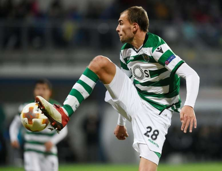 Sporting recusou oferta do Sevilha por Bas Dost. AFP